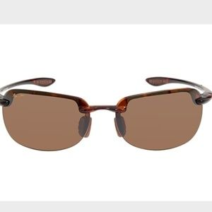 MAUI JIM. SANDY BEACH Polarized Rimless Sunglasses